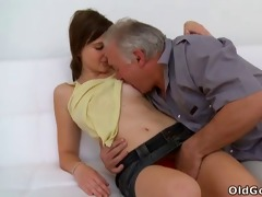 old lad needs to play with a cute youthful pussy