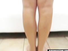 czech casting - sexy golden-haired beauty