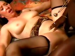 youthful black poles in old ladies buttholes -