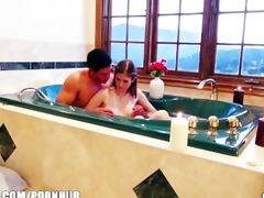 shy youthful gf is talked into making a sex tape