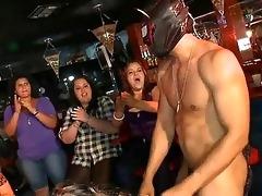 sexy youthful gals engulfing jock