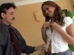 allie haze scores unsightly old man