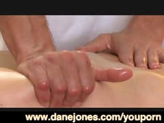 danejones erotic massage drives youthful gal wild