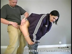 631 years old girl does porn casting