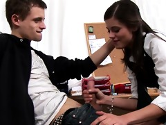 hawt juvenile little caprice doing a oral job