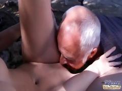 oldman have to pleasures lascivious juvenile