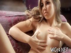enchanting beauty masturbating
