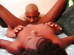 beautiful youthful darksome takes large load
