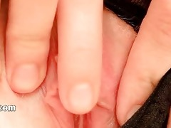 61 years old ultracute gap fingering