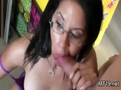 real non-professional public pair oral job