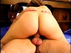 beautiful youthful wench with perfect booty gets