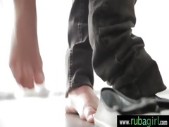 fur pie rubbing at massage parlor 210