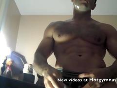 hawt juvenile muscle fuck& cum!