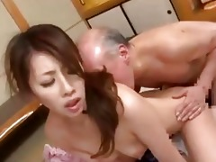 youthful japanese wife amp old chap