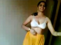 south indian hotty stripping for bf