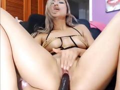 web camera - sexy exotic youthful blond cutie