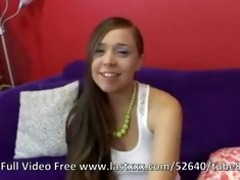 tiffany taylor on the casting daybed