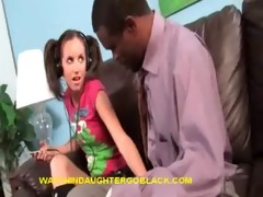 dad&#882 s therapy by watching interracial