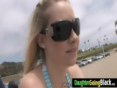 young white gals wazoo jiggles on darksome dick 4