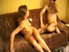 youthful pair paid to fuck on camera