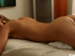 cute golden-haired dream massage fucking