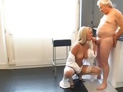youthful golden-haired fucking old chap