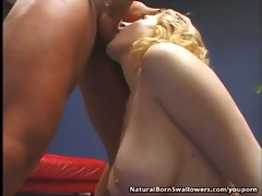 pleasing hawt blonde anal fuck