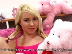 tiny titted blond legal age teenager copulates in