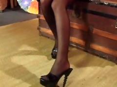 smokin sexy in stockings - scene 9