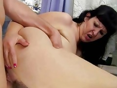 breasty plump grandma fucking with youthful chap