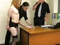 coarse spanking of madison young and degrading