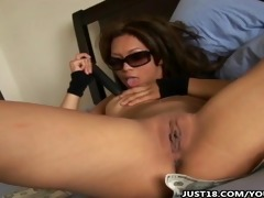 kyra mckinsey masturbating fur pie with toys