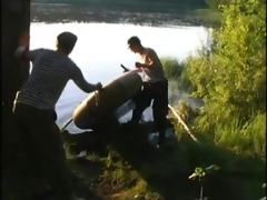 young guys during the time that is fishing fuck