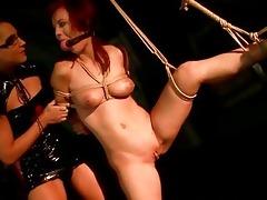 juvenile female-dom punishing breasty redhead