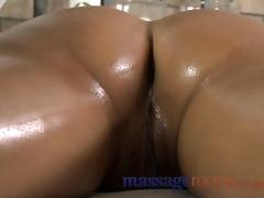 massage rooms nice-looking juvenile gal enjoys