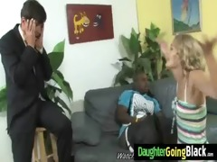 my daughter gets drilled by monster dark man 05