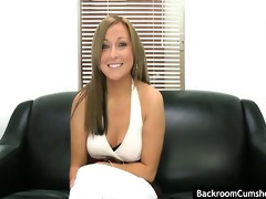 juvenile blond dilettante gets fingered and