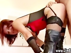 see old boy fuck redhead in the bawdy cleft