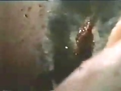 spitting impalement from old horror video
