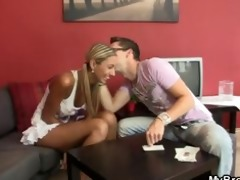 sexy golden-haired cheating with her bfs bro