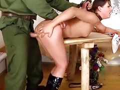 cutie receives drilled coarse by old guy