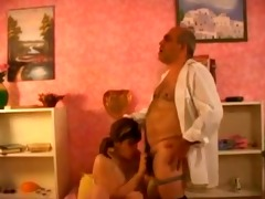 granddad banging busty girl by troc