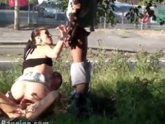 risky public sex street some part 6