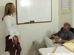 beautiful lexie seducing her teacher to sex