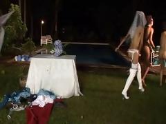 4 father 10 bride 12 belt on maids