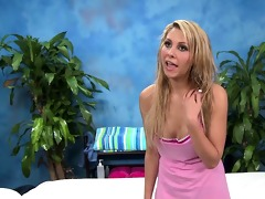 cute 18 year old natalie vegas enticed and