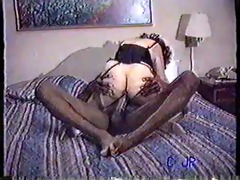 old clip of a wife getting it is