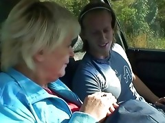 old whore acquires nailed in the car by a stranger