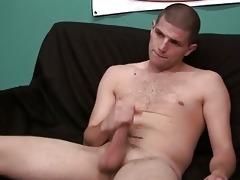 juvenile hawt college lad masturbating