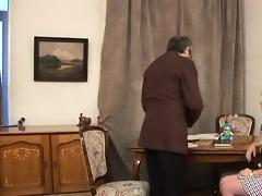 oral-service for a lascivious teacher